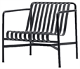 Palissade Lounge Chair Low anthraciteLR